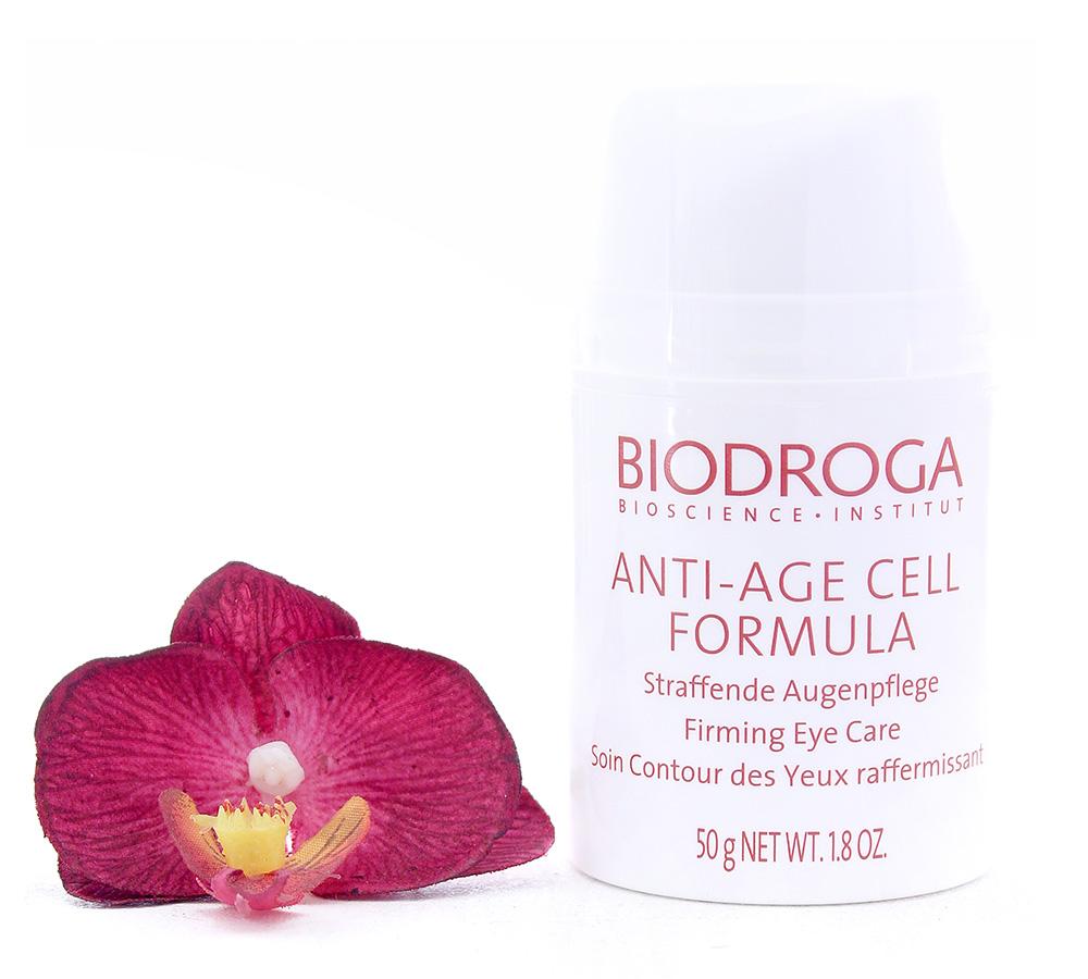43928 Biodroga Anti-Age Cell Formula Soin Contour des Yeux Raffermissant 50g