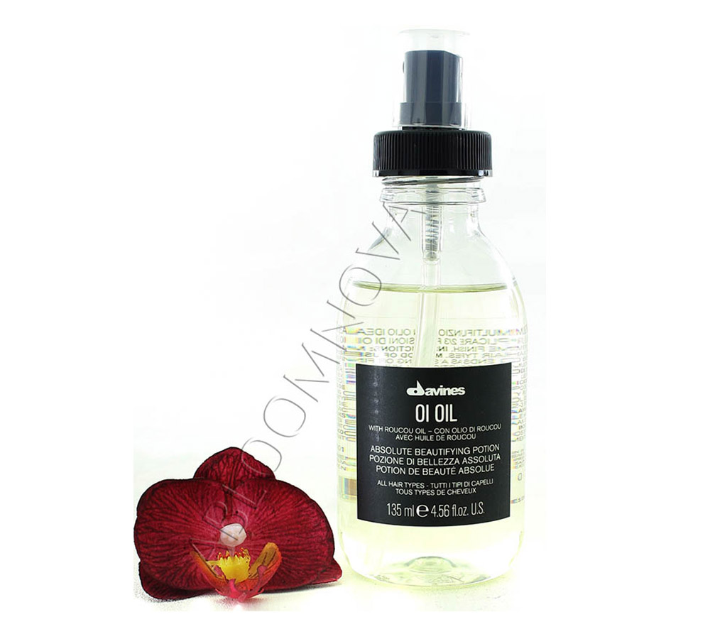 IMG_4808 Roucou oil – Davines Hair Oil's secret ingredient.