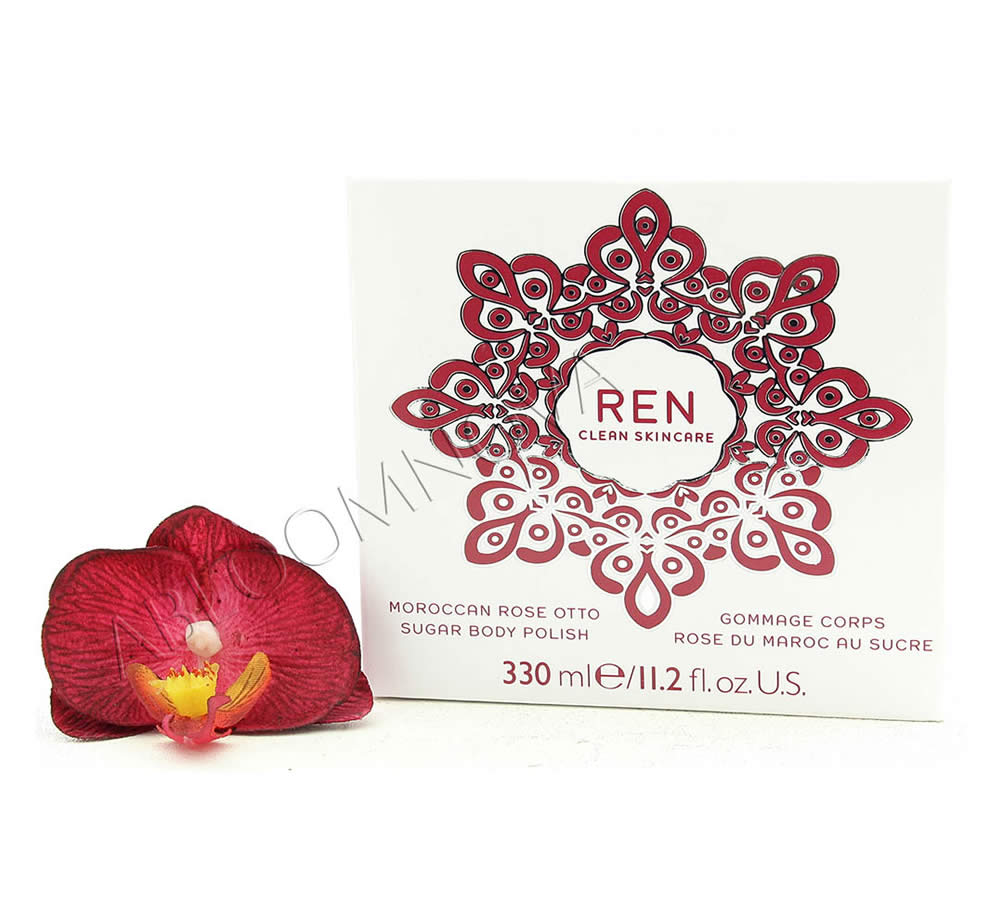 IMG_5158 REN Moroccan Rose Gommage Corps Rose du Maroc au Sucre 330ml