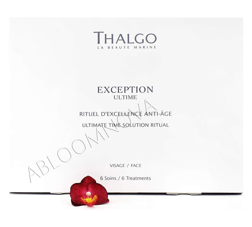 IMG_2929 Thalgo Exception Ultime Ultimate Time Solution Ritual - Rituel d'Excellence Anti-Age 6 treatments