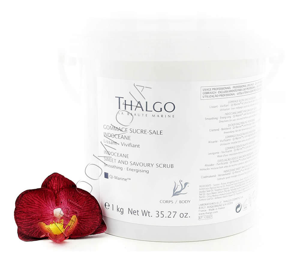 IMG_2948 Thalgo Gommage Sucré-Salé Indocéane - Indoceane Sweet and Savoury Scrub 1kg