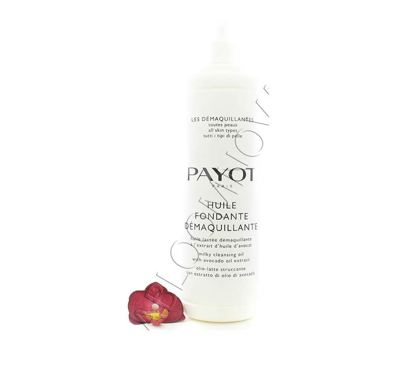 IMG_5309-e1527857316221 Payot Huile Fondante Demaquillante - Milky Cleansing Oil 1000ml