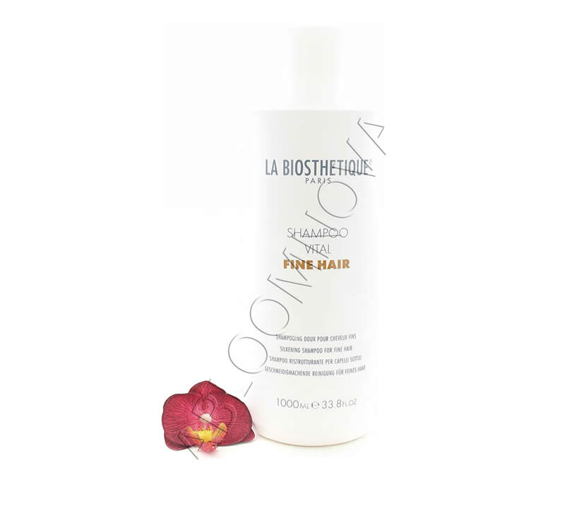 IMG_5556 La Biosthetique Shampoo Vital Fine Hair - Silkening Shampoo for Fine Hair 1000ml