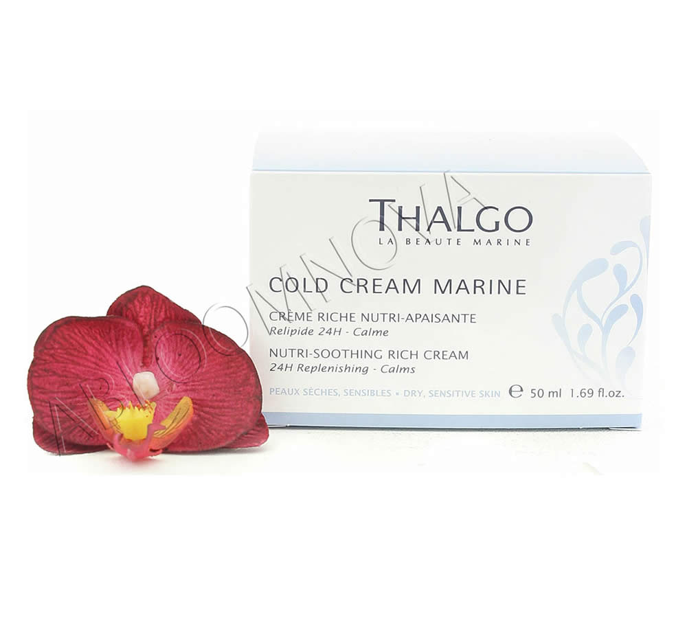 IMG_5595-1 Thalgo Cold Cream Marine Crème Riche Nutri-Apaisante - Nutri-Soothing Rich Cream 50ml