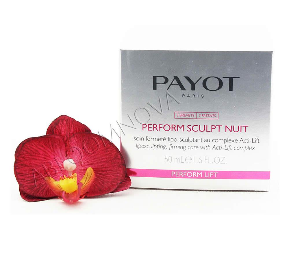 IMG_65092107-1 Payot Perform Sculpt Nuit Soin Fermeté Lipo-Sculptant - Liposculpting, Firming Care 50ml
