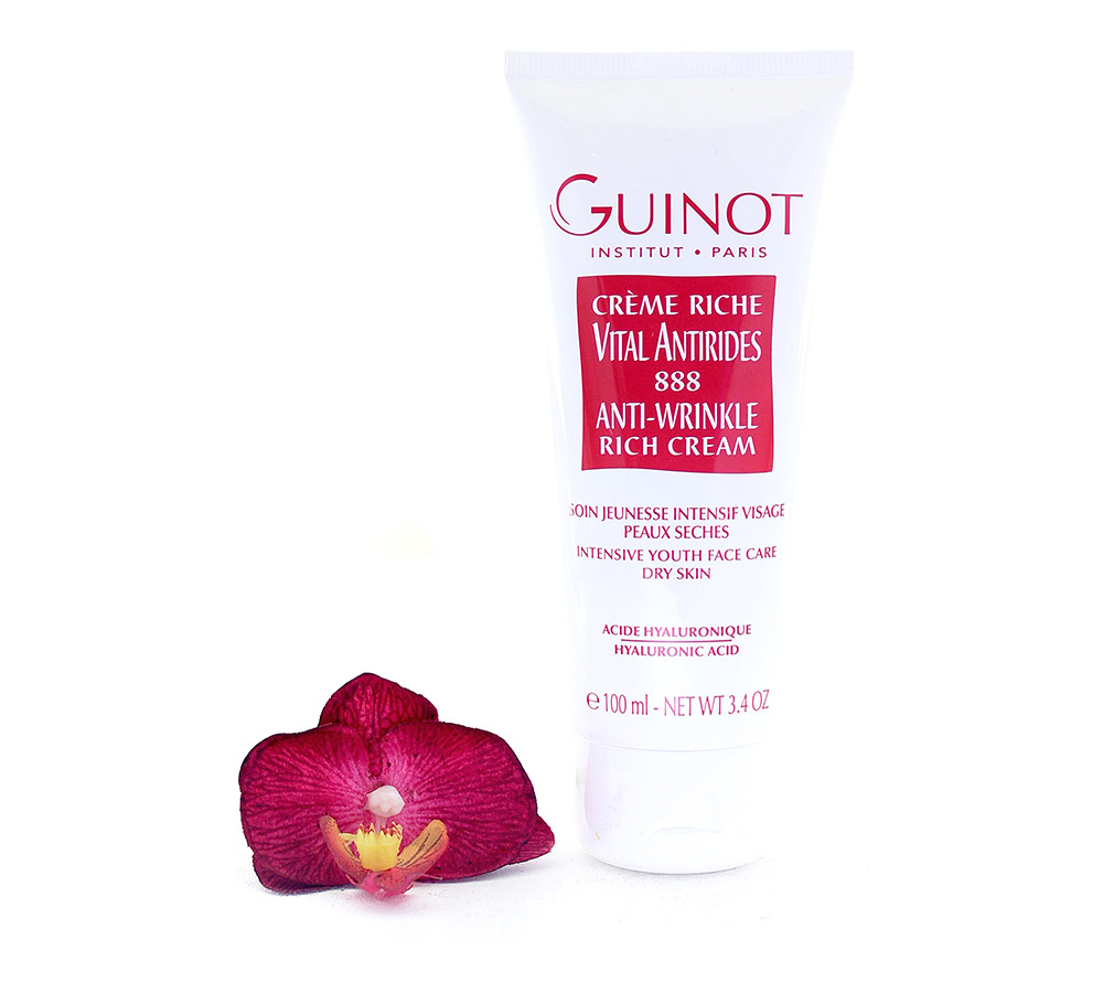 441600 Guinot Anti-Wrinkle Rich Cream - Smoothing Anti-Wrinkle Cream 100ml