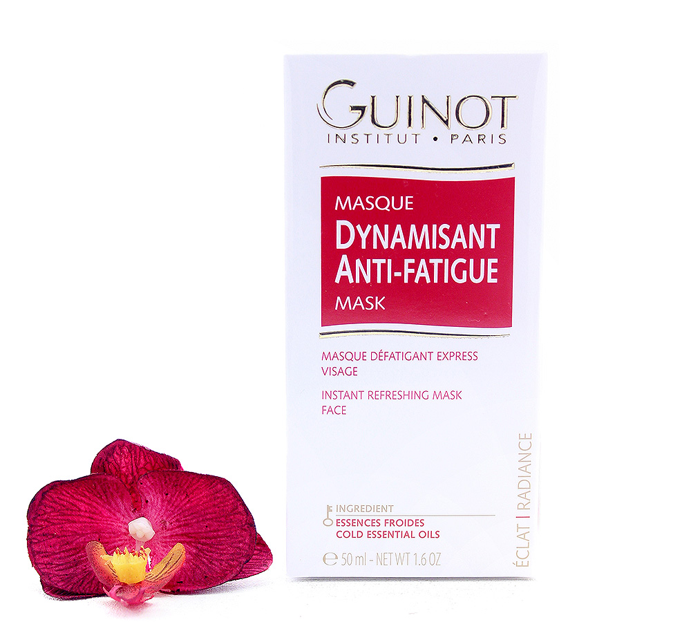 500550 Guinot Masque Dynamisant - Anti-Fatigue Instant Refreshing Face Mask 50ml