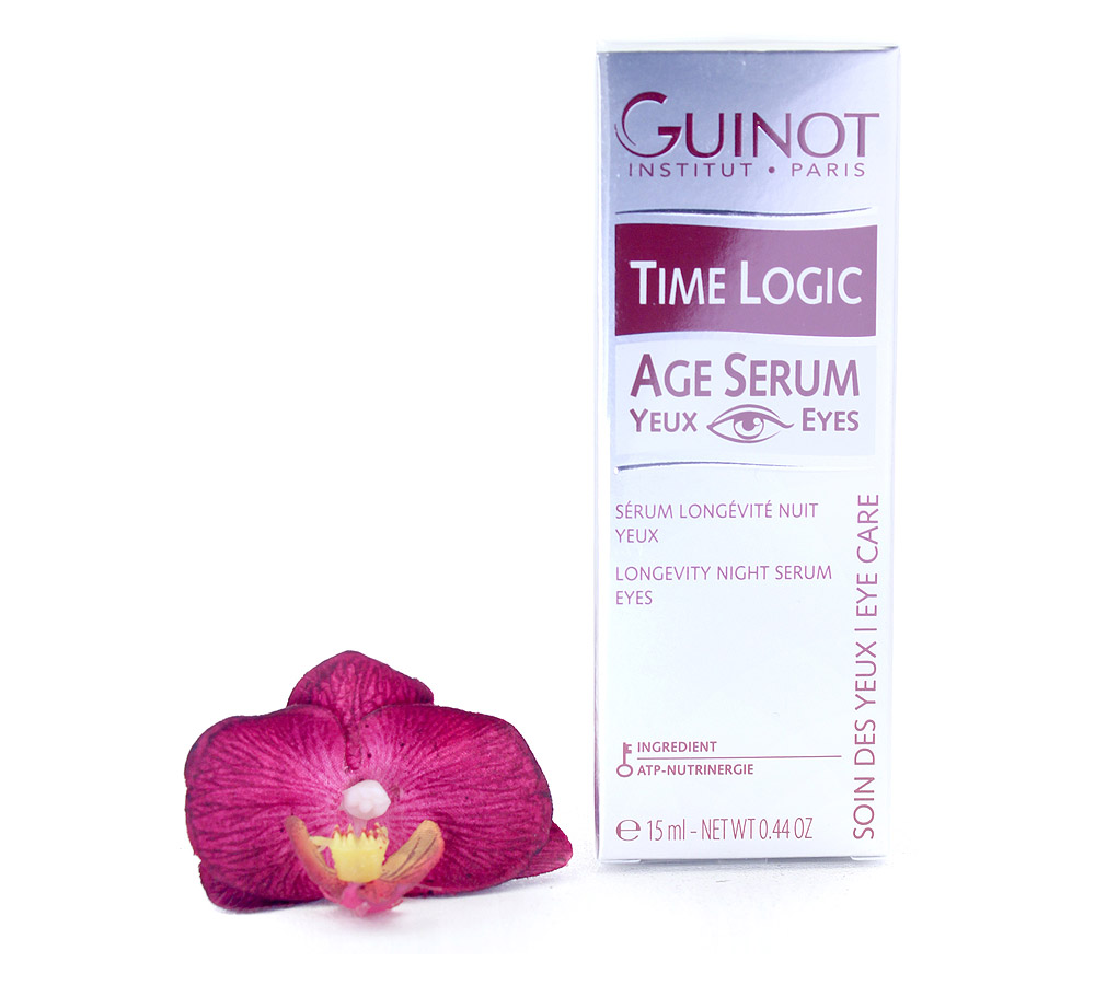 501600 Guinot Time Logic Age Serum Yeux - Longevity Night Serum Eyes 15ml