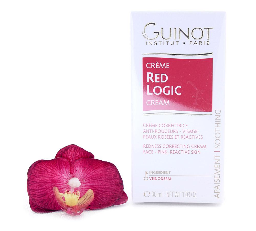 5027802 Guinot Crème Red Logic - Crème Correctrice Anti-Rougeurs Visage 30ml