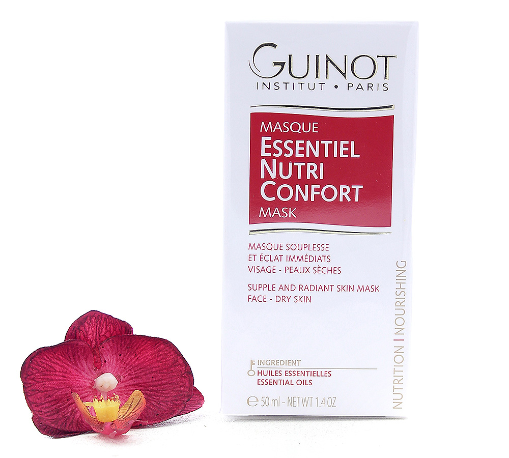 503786 Guinot Masque Essentiel Nutrition Confort - Supple And Radiant Skin Face Mask 50ml