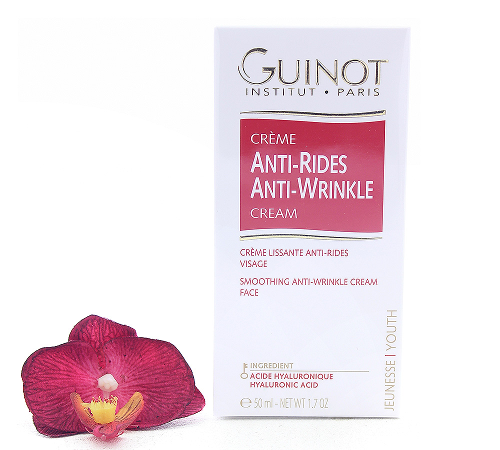 504500 Guinot Creme Anti-Rides - Smoothing Anti-Wrinkle Cream 50ml
