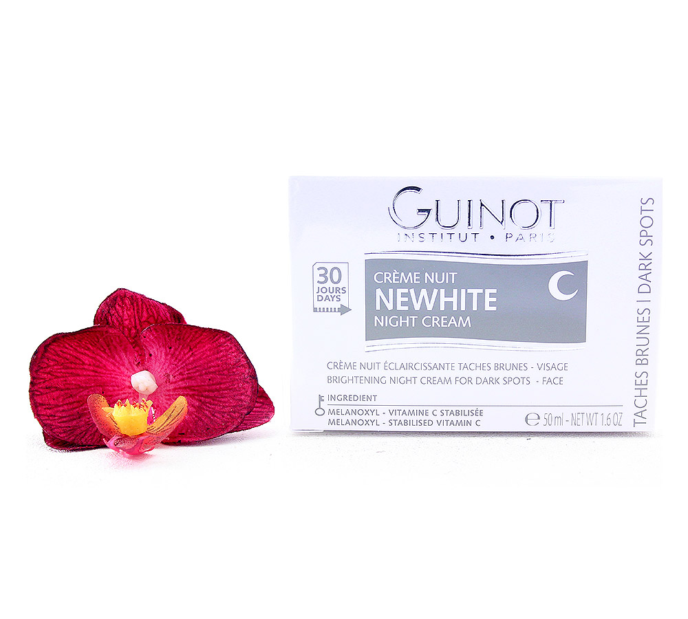 505400. Guinot Newhite Creme Nuit Eclaircissante - Brightening Night Cream 50ml