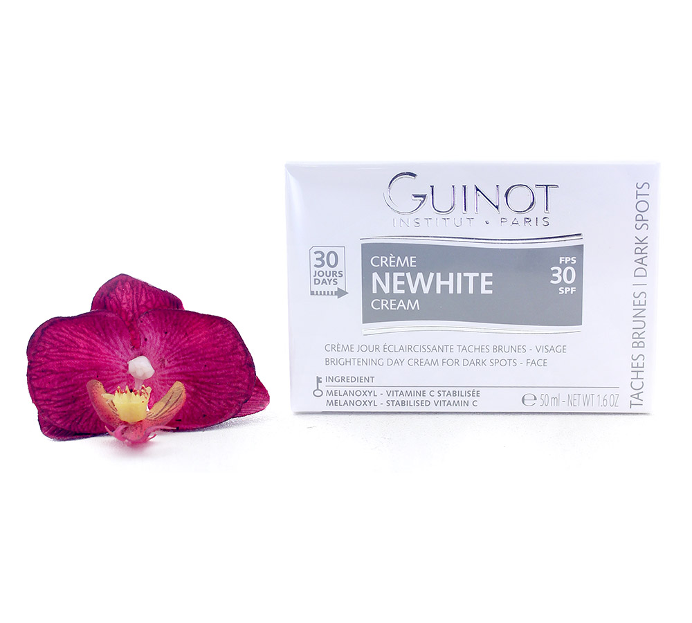 505500 Guinot Newhite Creme Jour Eclaircissante - Brightening Day Cream SPF30 50ml