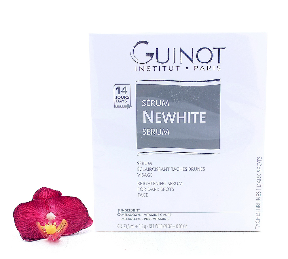 505800_new Guinot Newhite Sérum Eclaircissant Vitamin C 23.5ml + 1.5g