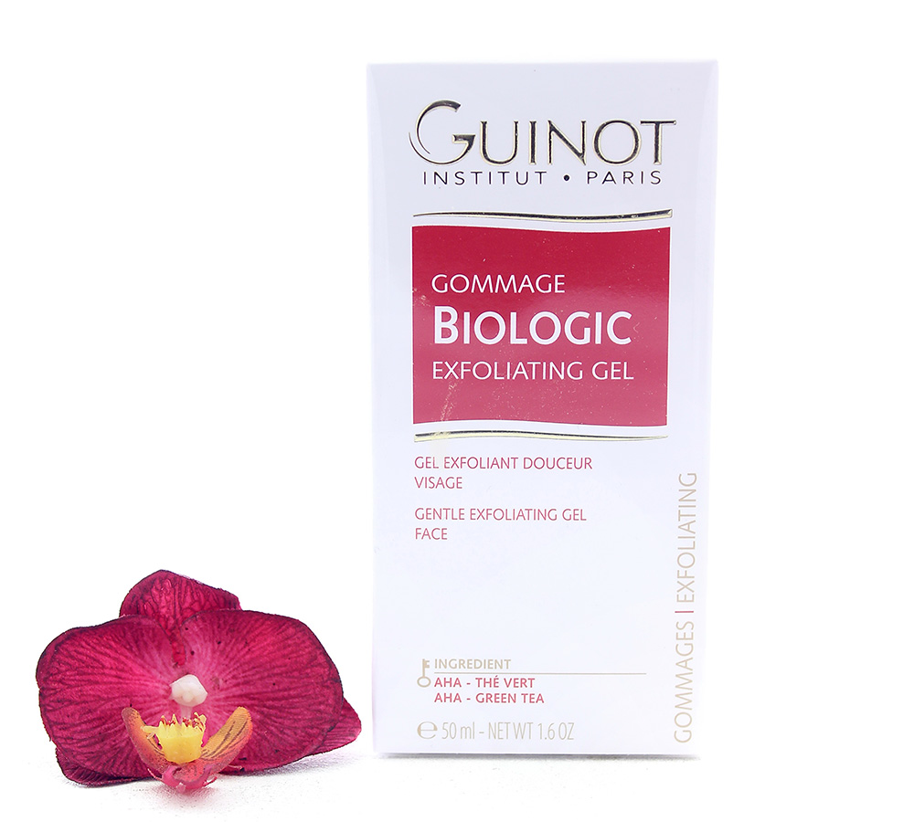 910102190 Guinot Gommage Biologique - Gentle Exfoliating Face Gel 50ml