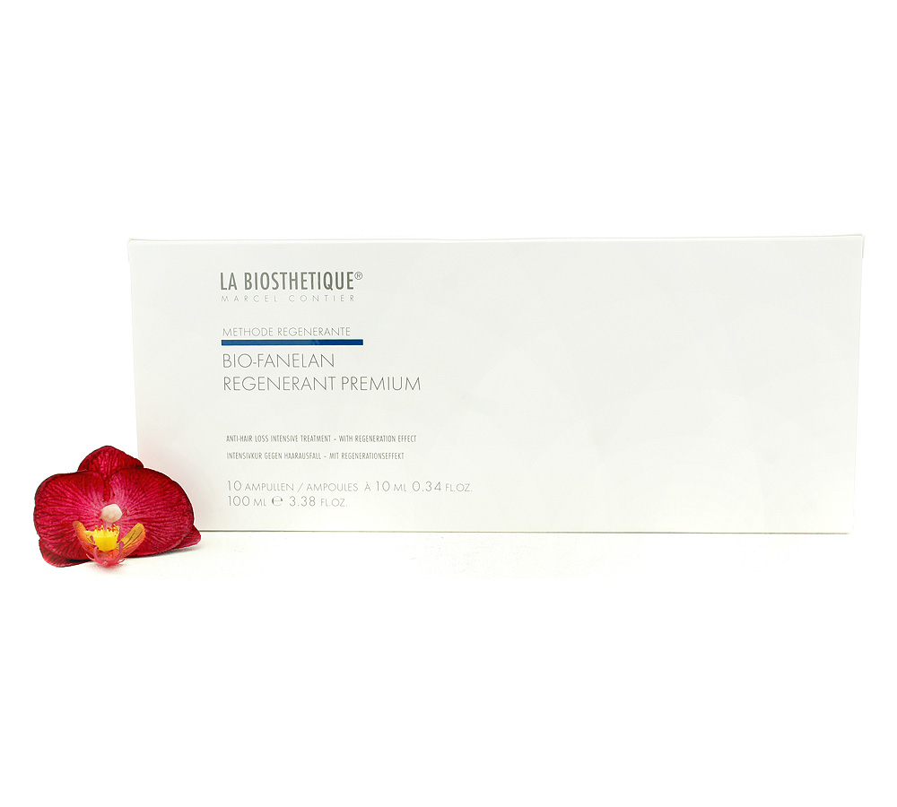 120521 La Biosthetique Bio-Fanelan Regenerant Premium - Anti-Hair Loss Intensive Treatment 10x10ml
