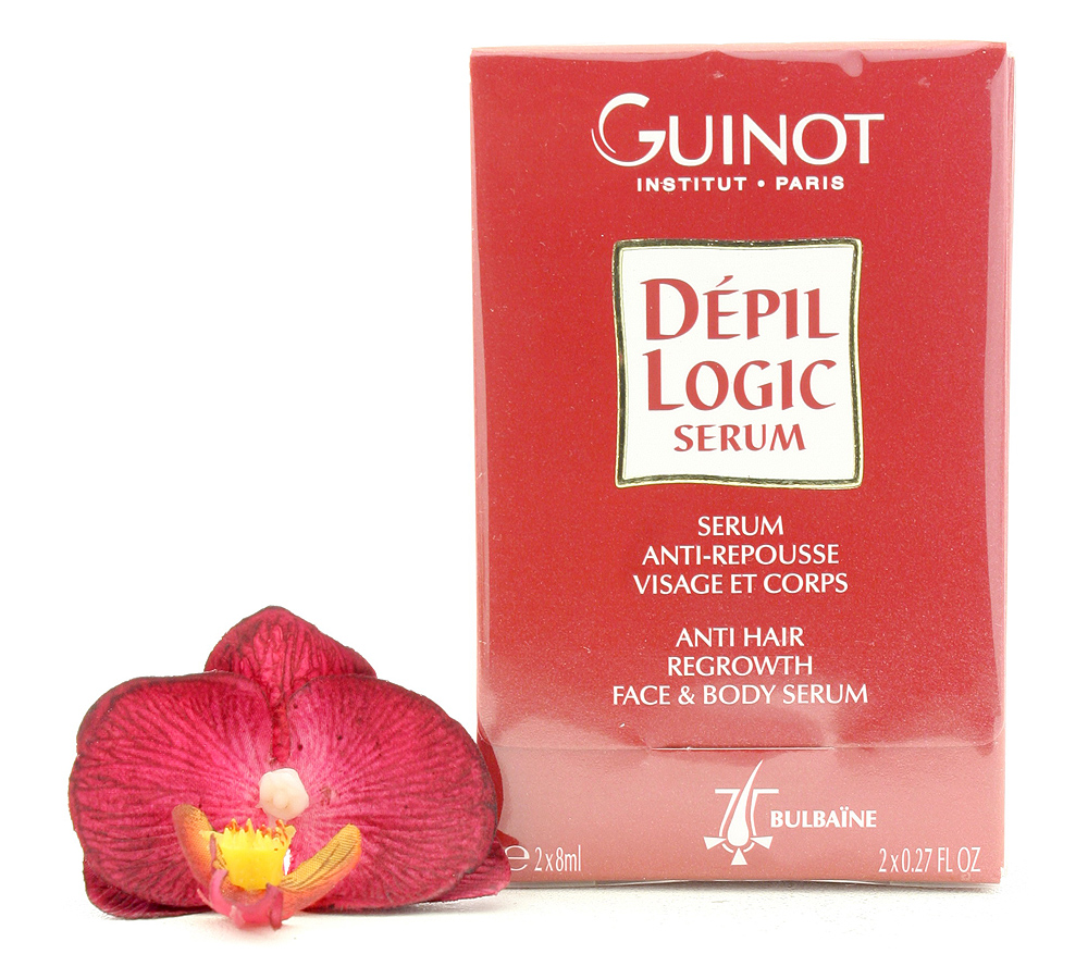 502650 Guinot Dépil Logic Sérum Anti-Repousse 2x8ml