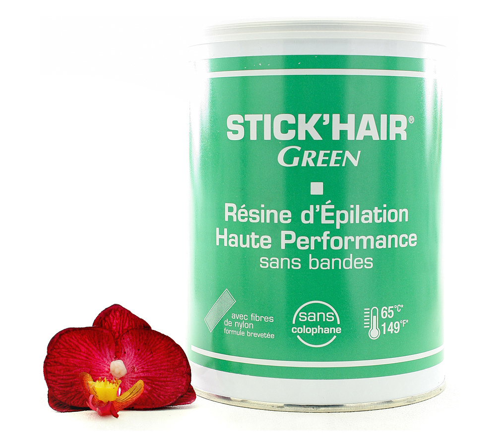 552701 Guinot Stick'Hair Green Résine d'Épilation Haute Performance - High Performance Hair Removal Wax 800ml