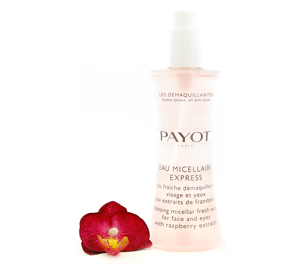 65108270 Payot Eau Micellaire Express - Cleansing Micellar Fresh Water for Face and Eyes 200ml