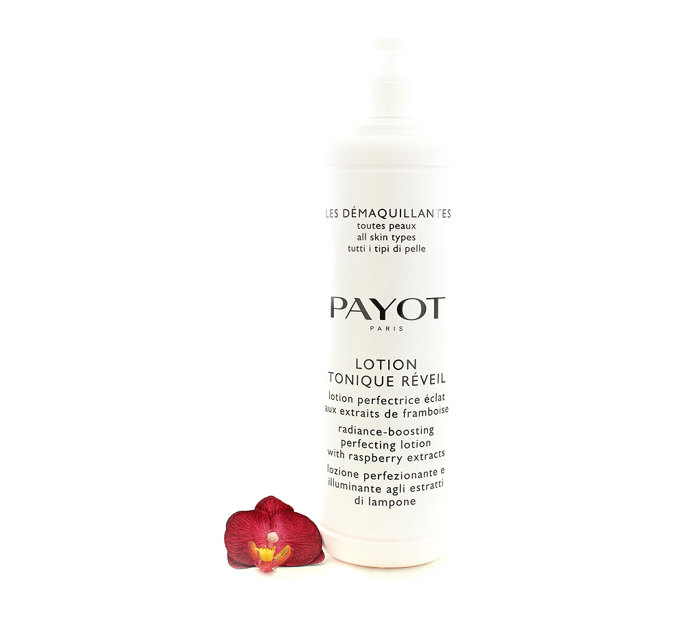 65108273 Payot Lotion Tonique Réveil Lotion Perfectrice Éclat - Radiance-Boosting Perfecting Lotion 1000ml