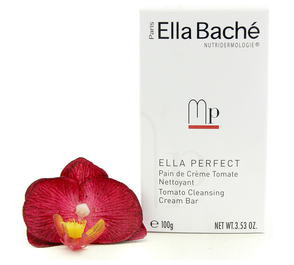 VE14008 Ella Bache Ella Perfect Pain de Creme Tomate Nettoyant - Tomato Cleansing Cream Bar 100g