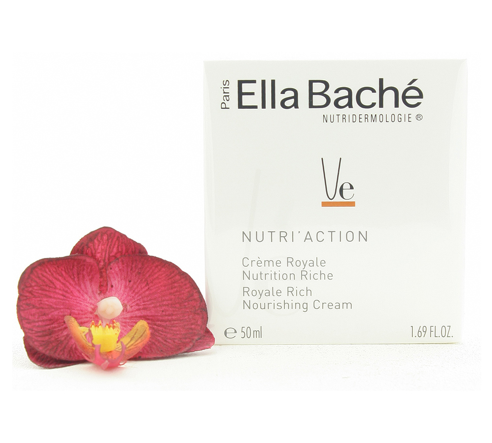 VE15027 Ella Bache Nutri'Action Creme Royale Nutrition Riche - Royale Rich Nourishing Cream 50ml