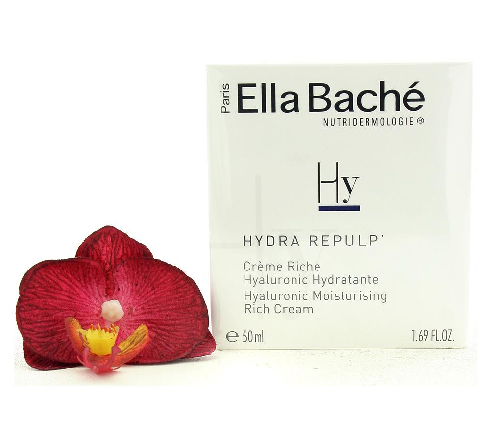 VE15032 Ella Bache Hydra Repulp' Creme Riche Hyaluronic Hydratante - Hyaluronic Moisturising Rich Cream 50ml