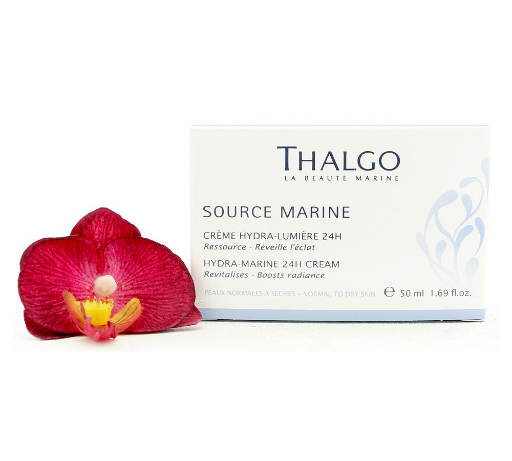VT15010 Thalgo Source Marine Hydra-Marine 24h Cream - Creme Hydra-Lumiere 24h 50ml