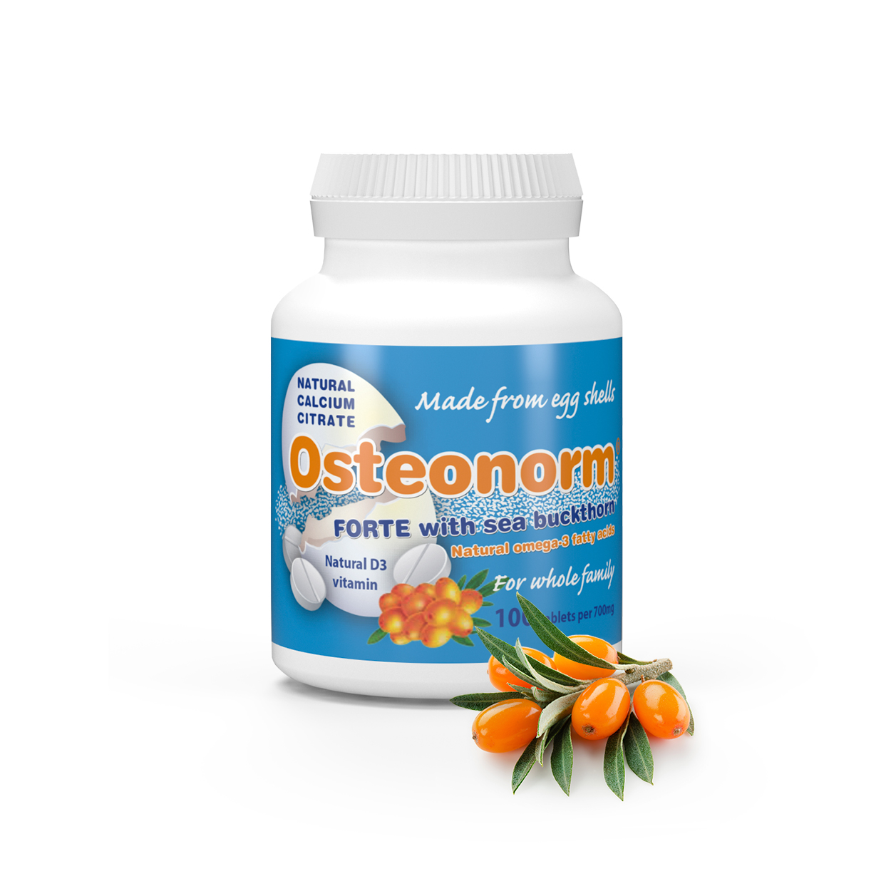 Osteonorm_Seabuckthorn_02 Osteonorm FORTE with Sea Buckthorn 100 tablets per 700mg