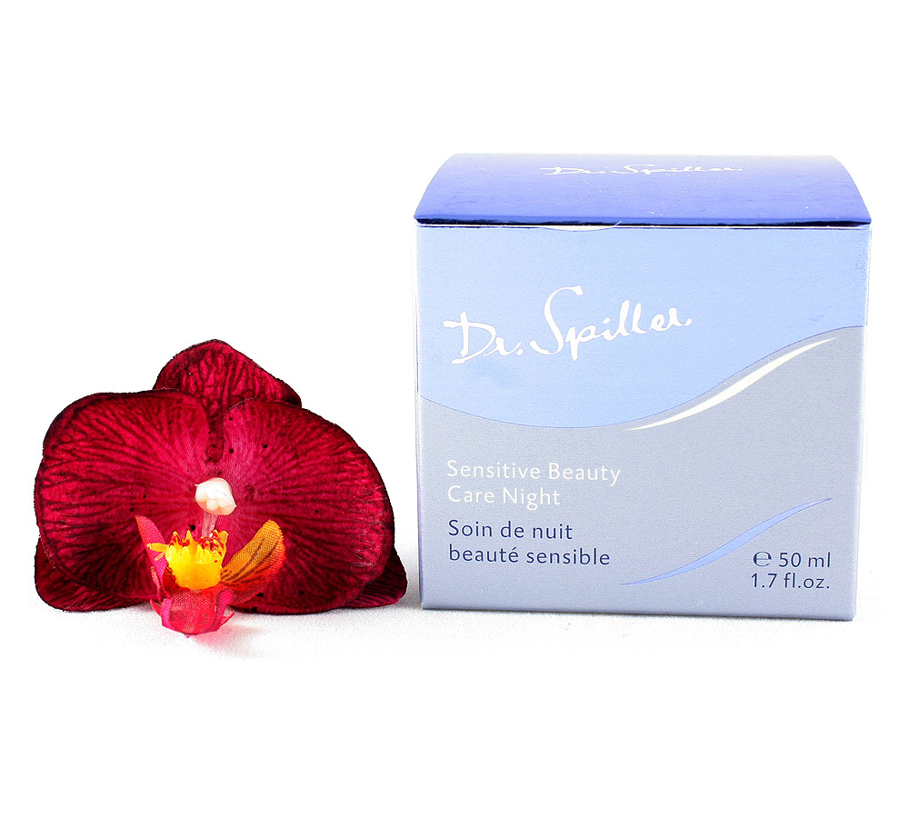 108407 Dr. Spiller Biomimetic Skin Care Soin de Nuit Beauté Sensible 50ml