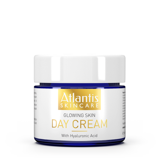 AtlantisSkincare_DayCream_Front-510x510 Atlantis Skincare Glowing Skin Day Cream with Hyaluronic Acid 50ml