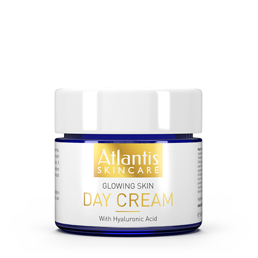 AtlantisSkincare_DayCream_Front Atlantis Skincare Glowing Skin Day Cream with Hyaluronic Acid 50ml