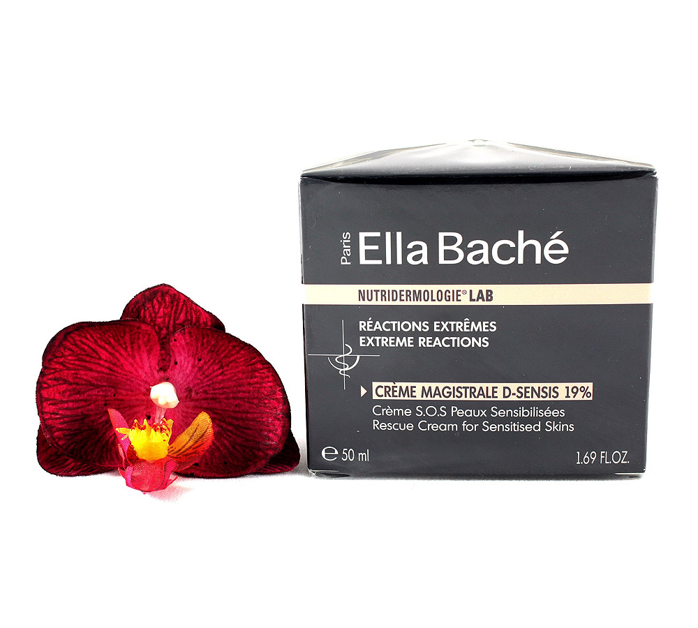 VE16012 Ella Bache Nutridermologie LAB Crème Magistrale D-Sensis 19% - Crème S.O.S Peaux Sensibilisées 50ml