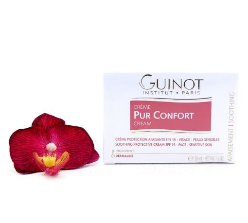 507400-1-510x459 Guinot Creme Pur Confort - Soothing Protective Face Cream SPF15 50ml