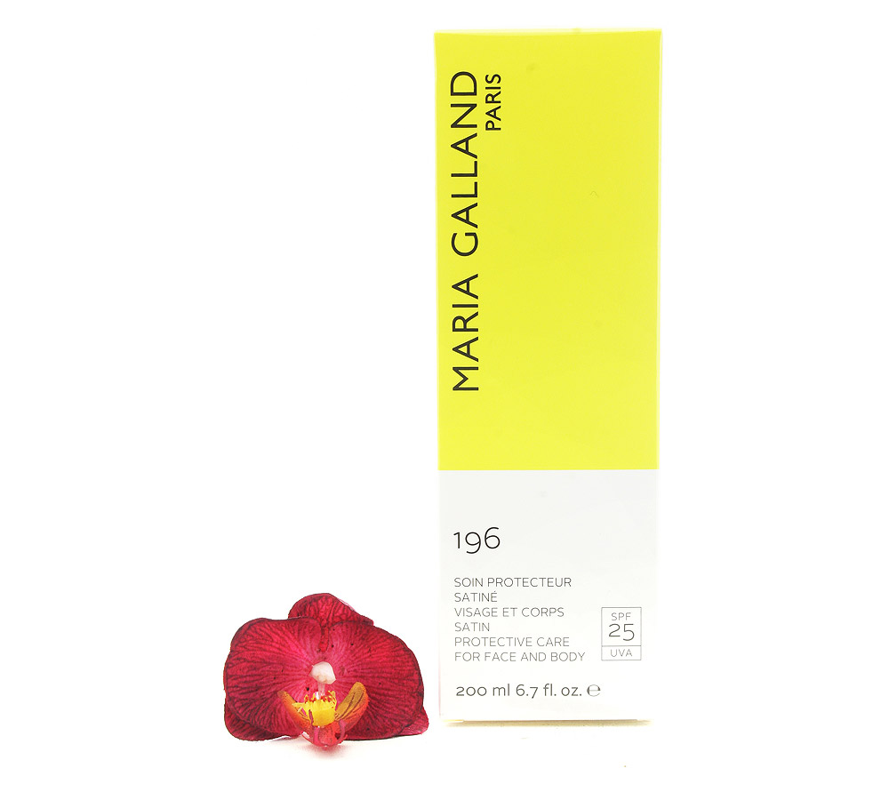 00665 Maria Galland Satin Protective Care for Face and Body 196 SPF25 200ml