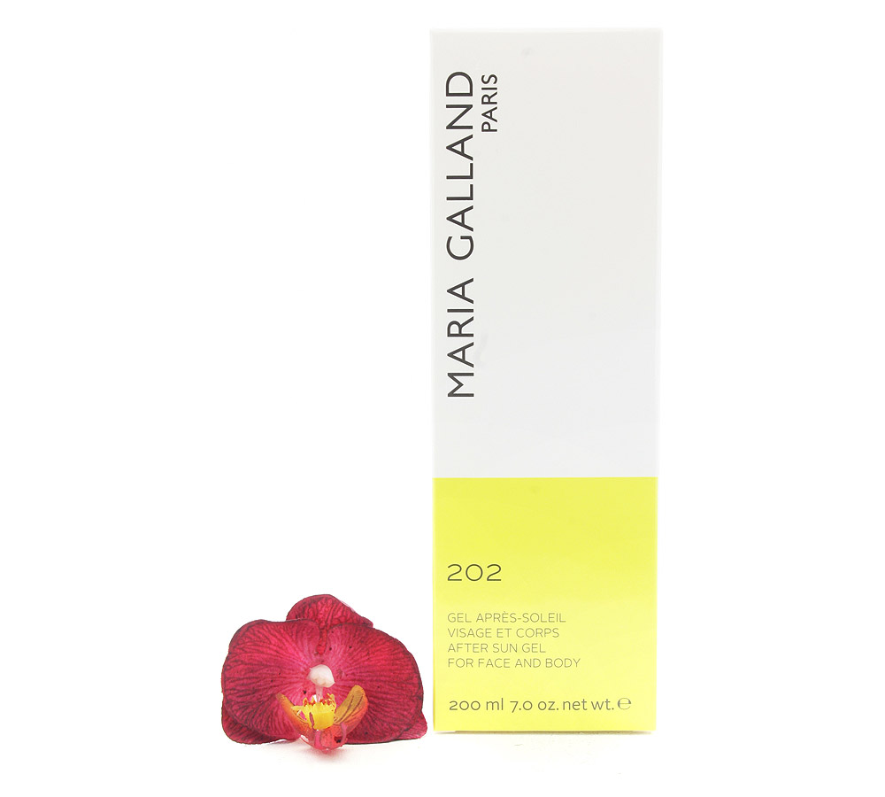 01102 Maria Galland After Sun Gel for Face and Body 202 200ml
