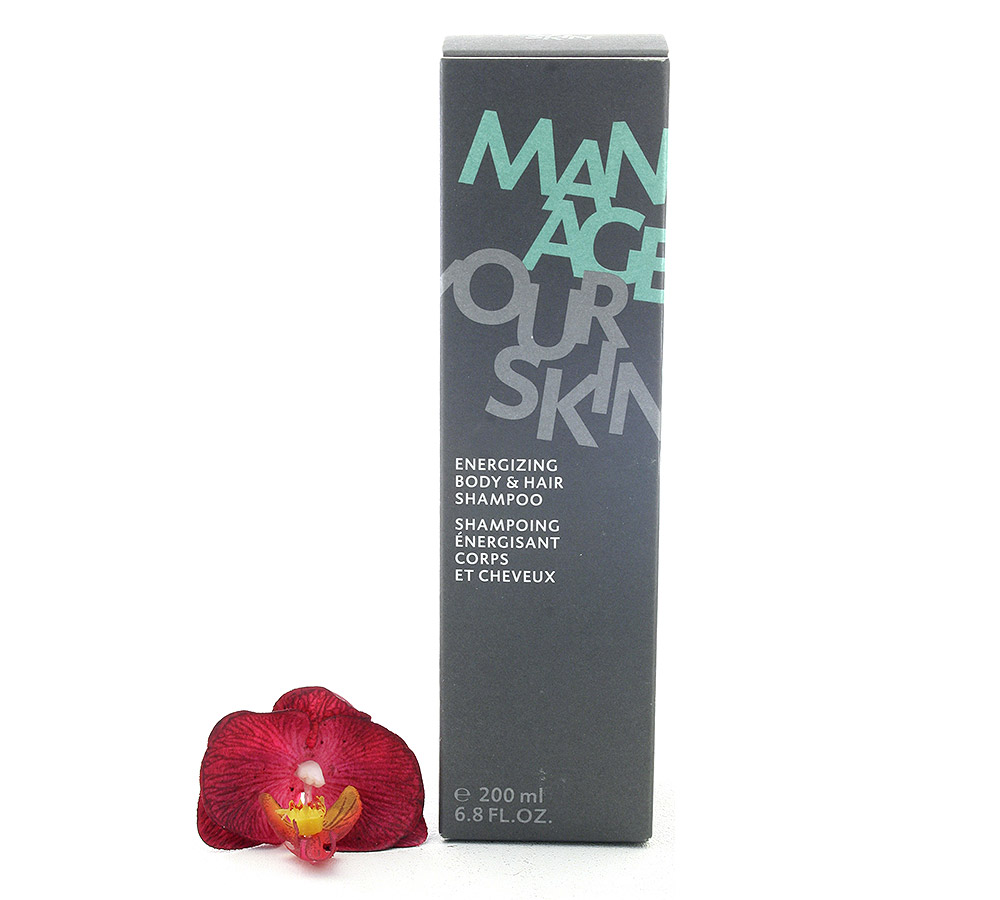 100612 Dr. Spiller Manage Your Skin Shampoing Énergisant Corps et Cheveux - Energizing Body & Hair Shampoo 200ml