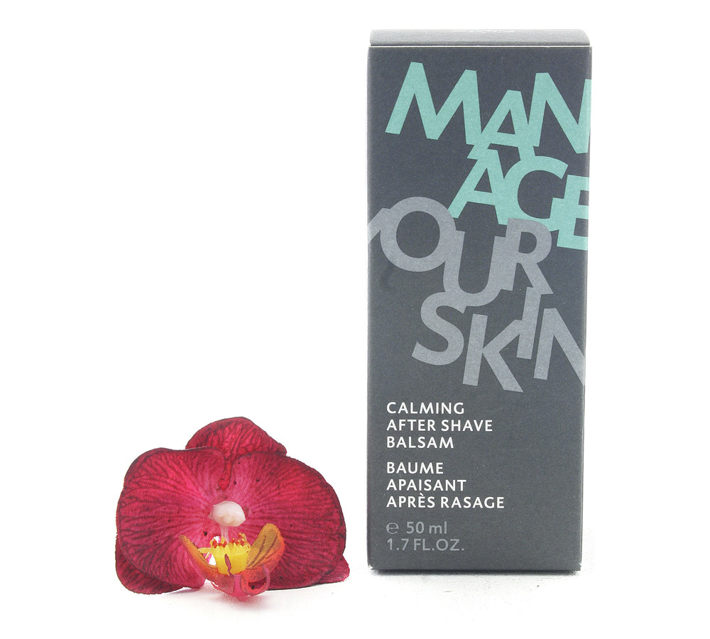 101807 Dr. Spiller Manage Your Skin Calming After Shave Balm 50ml