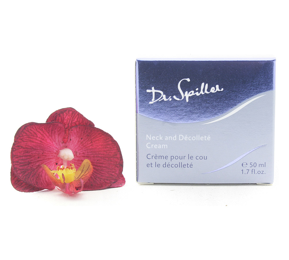 113007 Dr. Spiller Biomimetic Skin Care Neck and Decollete Cream 50ml Damaged Package