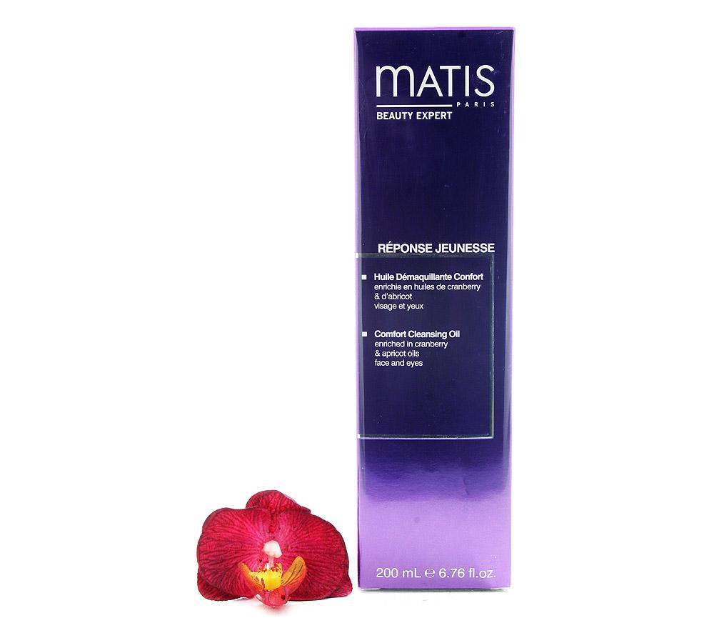37597 Matis Reponse Jeunesse Huile Demaquillante Confort - Comfort Cleansing Oil 200ml
