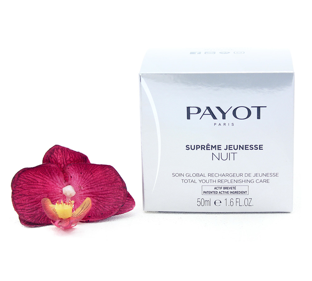 65100705-e1529059850199 Payot Supreme Jeunesse Nuit - Total Youth Replenishing Care 50ml