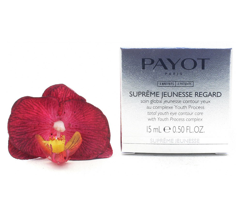 65100706 Payot Suprême Jeunesse Regard Soin Global Jeunesse Contour Yeux - Total Youth Eye Contour Care 15ml