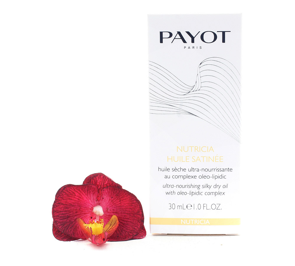 65105691 Payot Nutricia Huile Satinee - Ultra-Nourishing Silky Dry Oil 30ml
