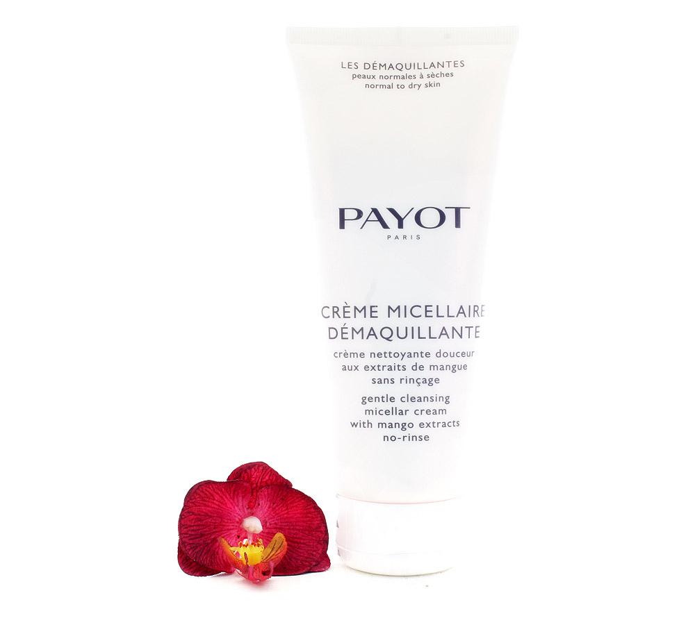 65108271 Payot Crème Micellaire Démaquillante - Crème Nettoyante Douceur 200ml
