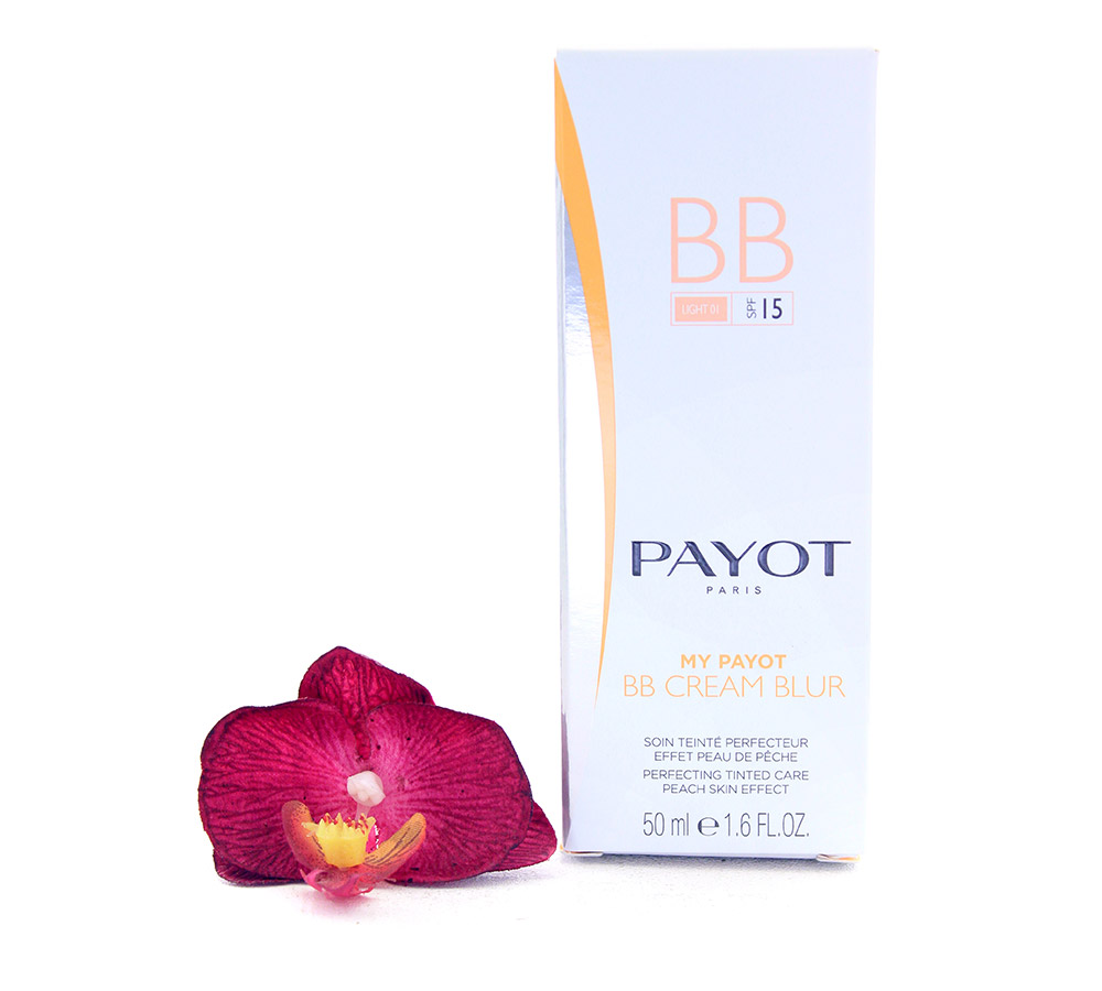 65108939 Payot My Payot BB Cream Blur Light 01 SPF15 - Perfecting Tinted Care Peach Skin Effect 50ml