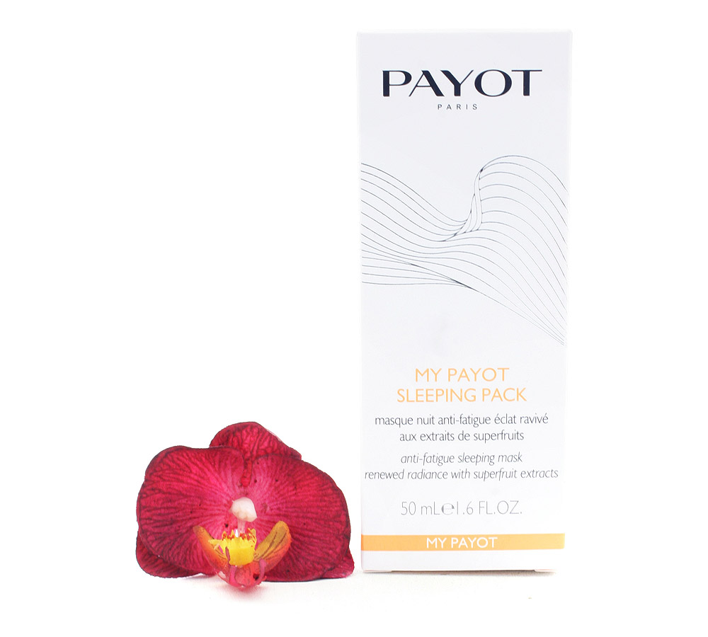 65108941 Payot My Payot Sleeping Pack Masque Nuit Anti-Fatigue Éclat Ravivé - Anti-Fatigue Sleeping Mask Renewed Radiance 50ml