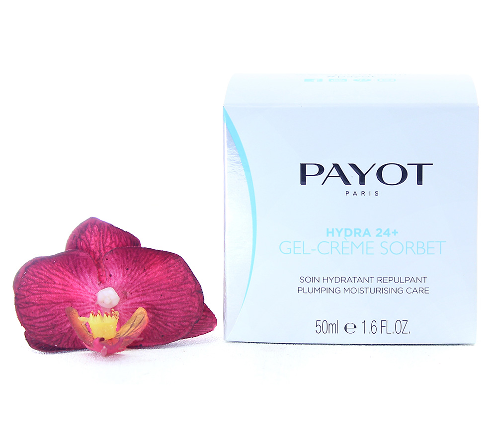 65108984_new Payot Hydra 24+ Gel-Crème Sorbet Soin Hydratant Repulpant - Plumping Moisturising Care 50ml