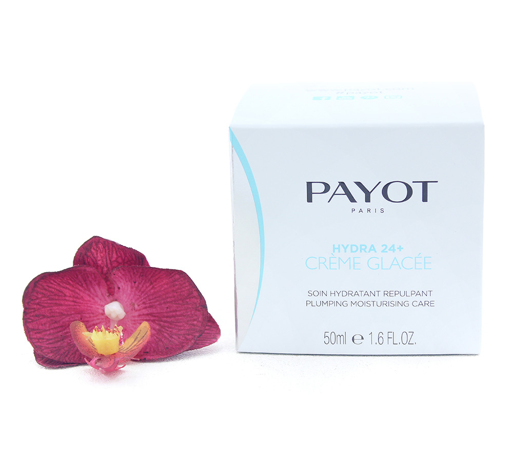 65108985-e1529061004117 Payot Hydra 24+ Creme Glacee - Plumping Moisturising Care 50ml