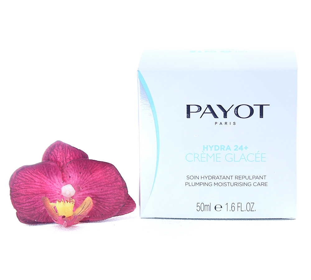 65108985_new Payot Hydra 24+ Crème Glacée Soin Hydratant Repulpant - Plumping Moisturising Care 50ml