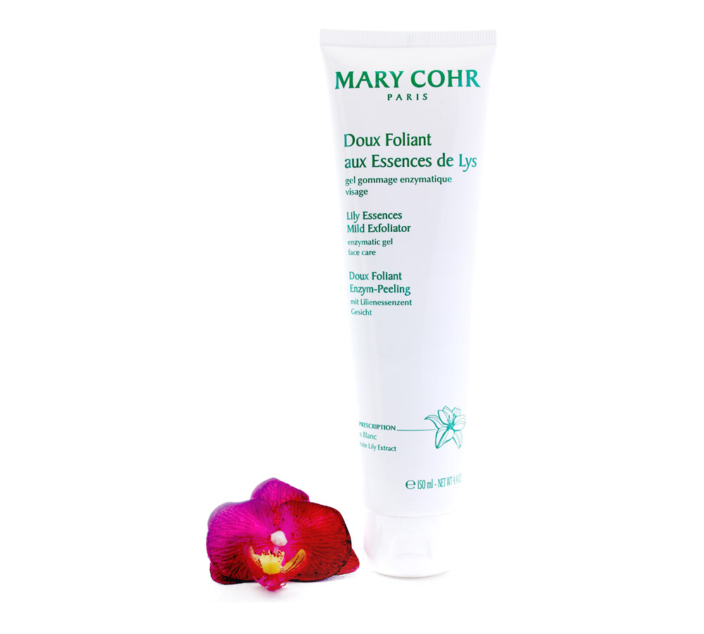 7020622 Mary Cohr Doux Foliant aux Essences de Lys - Lily Essences Mild Exfoliator 150ml